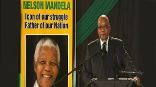 Jacob Zuma farewell speech to Madiba at Waterkloof