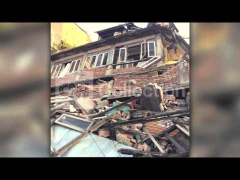 NEPAL QUAKE: HOMES BUILDINGS REDUCED TO RUBBLE