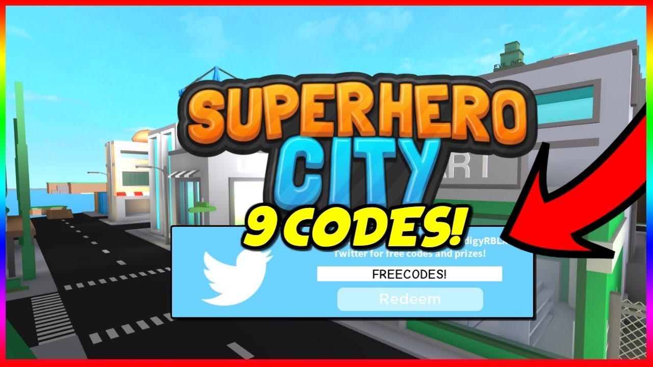 9 New Superhero City Codes Youtube