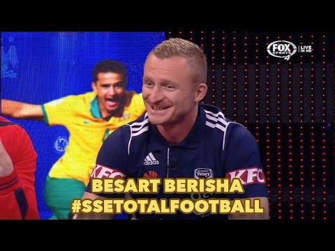 Besart Berisha on Total Football