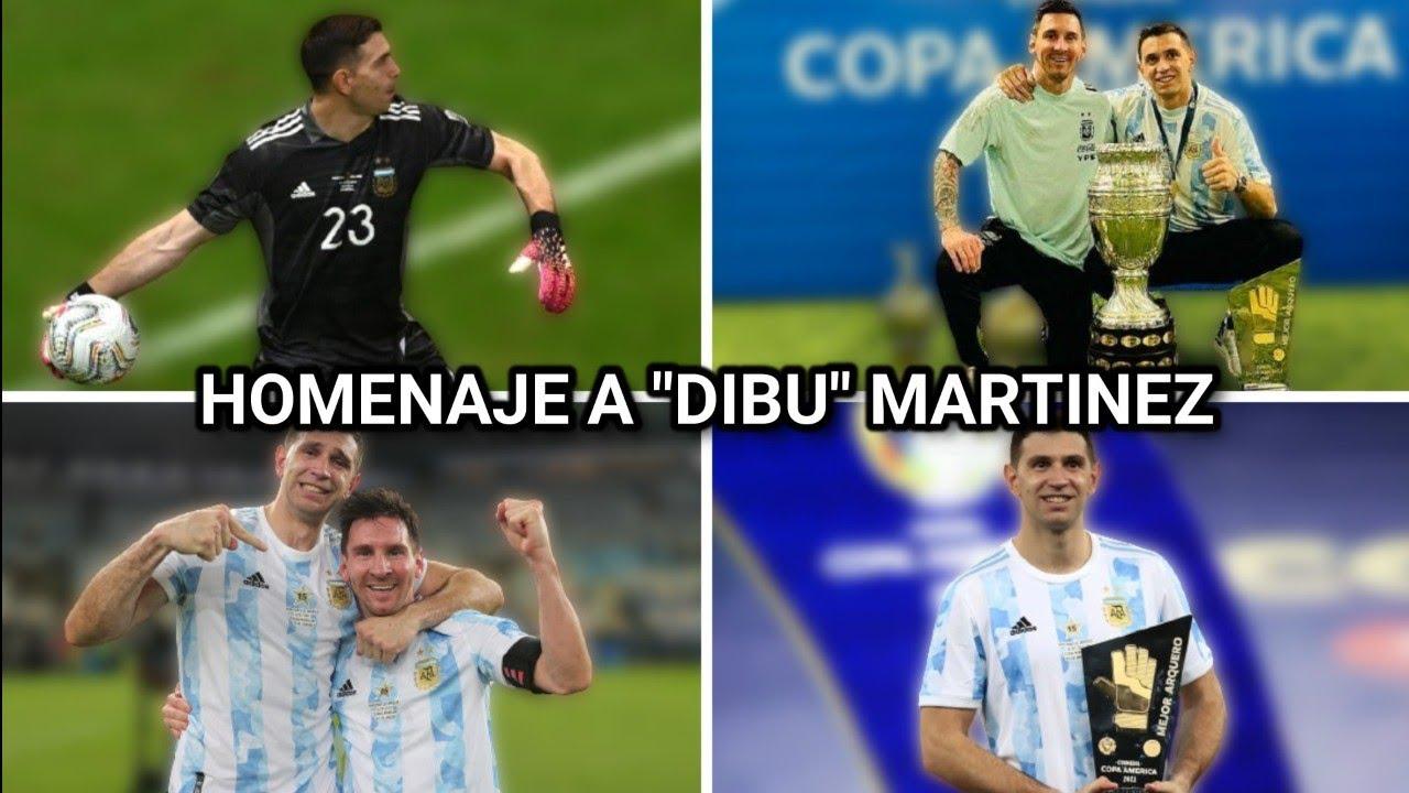 """Homenaje a """"Dibu"""" Martínez Argentina 🇦🇷 - Gracias por todo Dibu ❤️"""