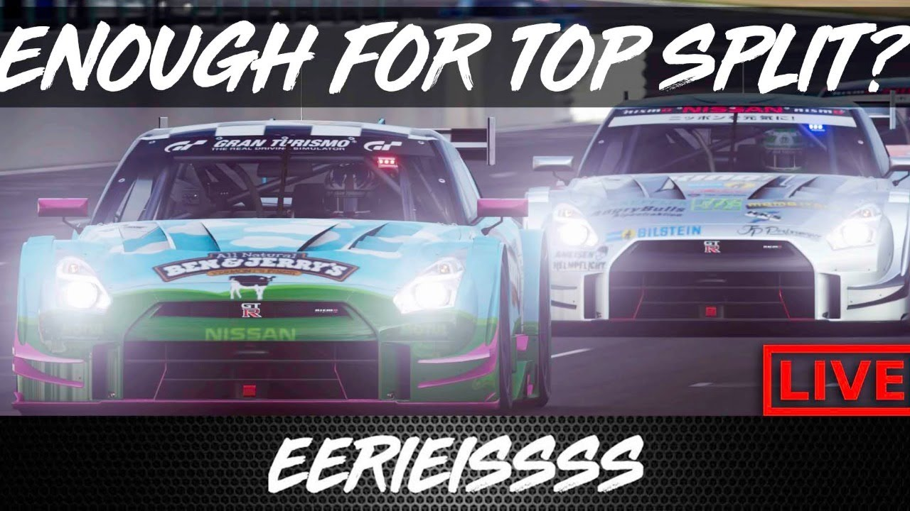 Can We Gain Enough DR For Top Split FIA!? Gran Turismo Sport LIVE