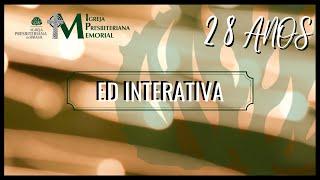28 anos: ED Interativa - 1 Timóteo 3:14-15
