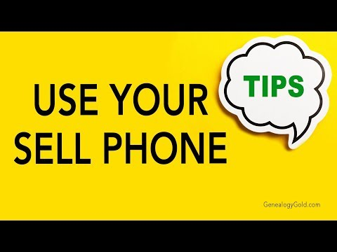 Genealogy Clips #26 | Use Your Cell Phone | Genealogy Gold Podcast