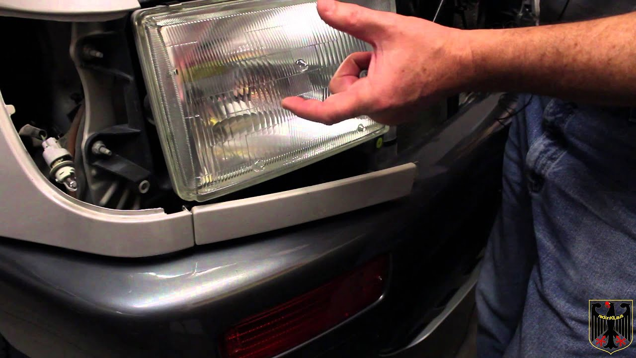 1996 2002 Toyota 4runner Headlight Cleaning Replacement