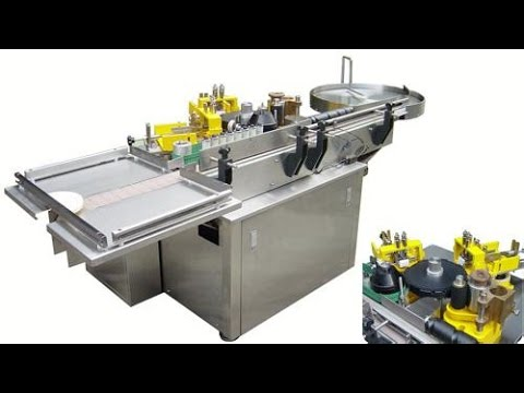 Automatic paste labeling machine using PLC control for round bottles label applictor