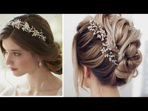 Formas de moda también peinados 2021 novias Imagen de cortes de pelo consejos - Hermosos Peinados de Novia 2021 - YouTube