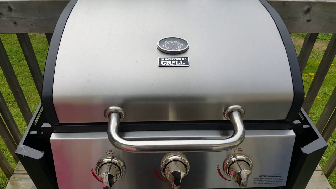 backyard grill review with self cleaning must watch please