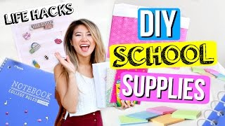 DIY Life Hacks for Back to School Supplies + Organization!