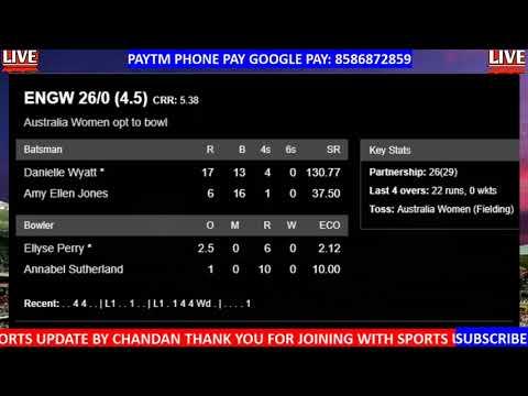England Women Vs Australia Women 2nd T20 Tri Series Live 🔴 AUS W Vs ENG W 2nd T20 Live