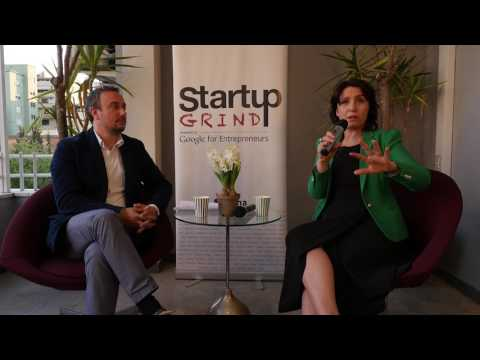 Mirela Sula at Startup Grind Tirana - April 2017