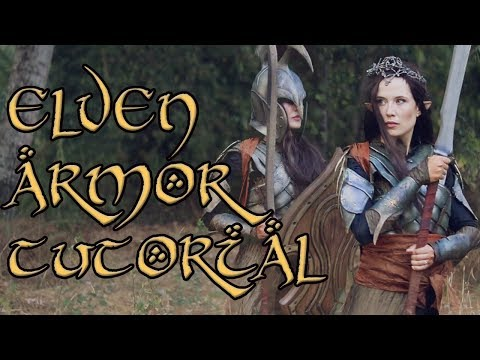 Elf Armor Tutorial - Make Your Own Elf Armor From The Lord Of The Rings!