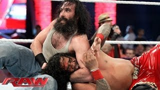 The Usos vs. Erick Rowan & Luke Harper: Raw, Jan. 20, 2014