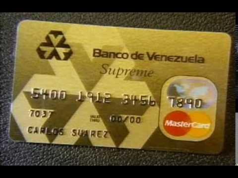 Comercial TDC MasterCard Supreme-Banco de Venezuela (1994)