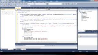 Tutorial Membuat Form Login dan MenuUtama Pada Visual Studio 2010