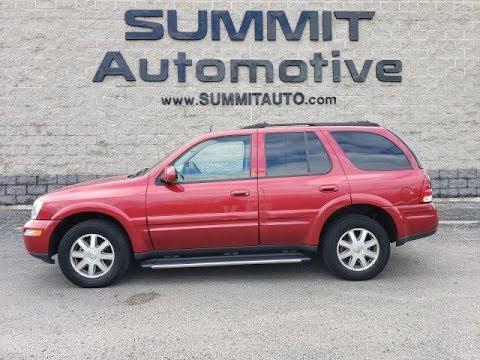 2005 BUICK RAINIER CXL AWD WALK AROUND REVIEW FOND DU LAC SOLD! 9J98A  Www.SUMMITAUTO.com