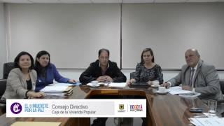 Consejo Directivo de la Caja de la Vivienda Popular invita a movilización del 9 de abril.