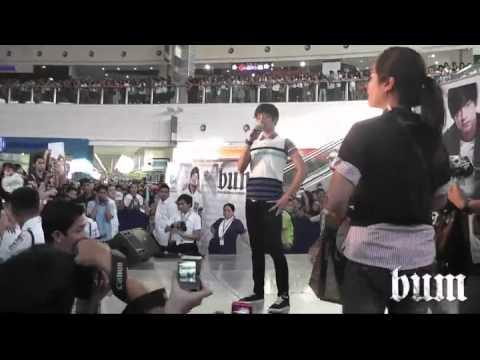 BUM Live with Daniel Padilla at SM Novaliches