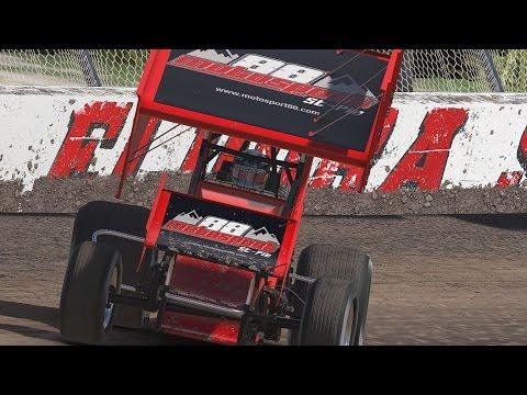 2017 Onboard iRacing 360 Sprint Car Series | Eldora Speedway