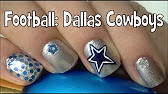 Dallas cowboys nail art tutorial by the crafty ninja youtube 134 prinsesfo Image collections