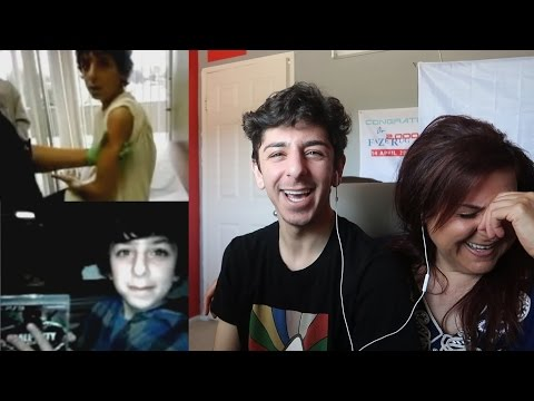 REACTING TO EMBARRASSING CHILDHOOD VIDEOS (TRY NOT TO CRINGE) | FaZe Rug