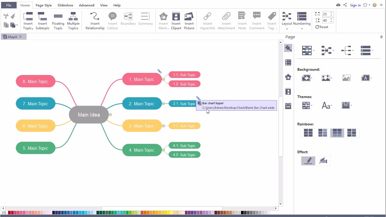MindMaster Tutorial - How to Insert Hyperlink and Attachment to Your Mind  Map