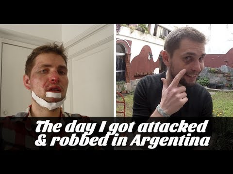 The day I got attacked and robbed in Argentina (Travel Video Blog 042)