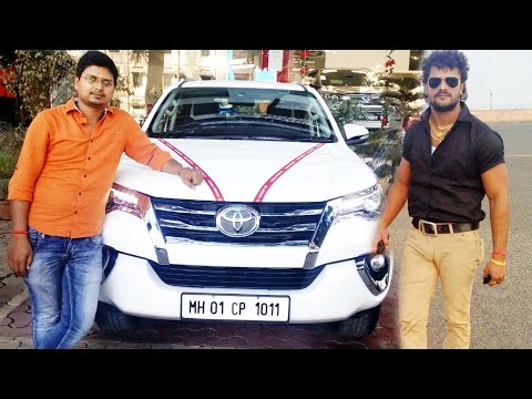 देखिये खेसारी लाल यादव की नई गाडी  Khesari Lal Yadav's New Car Pictures