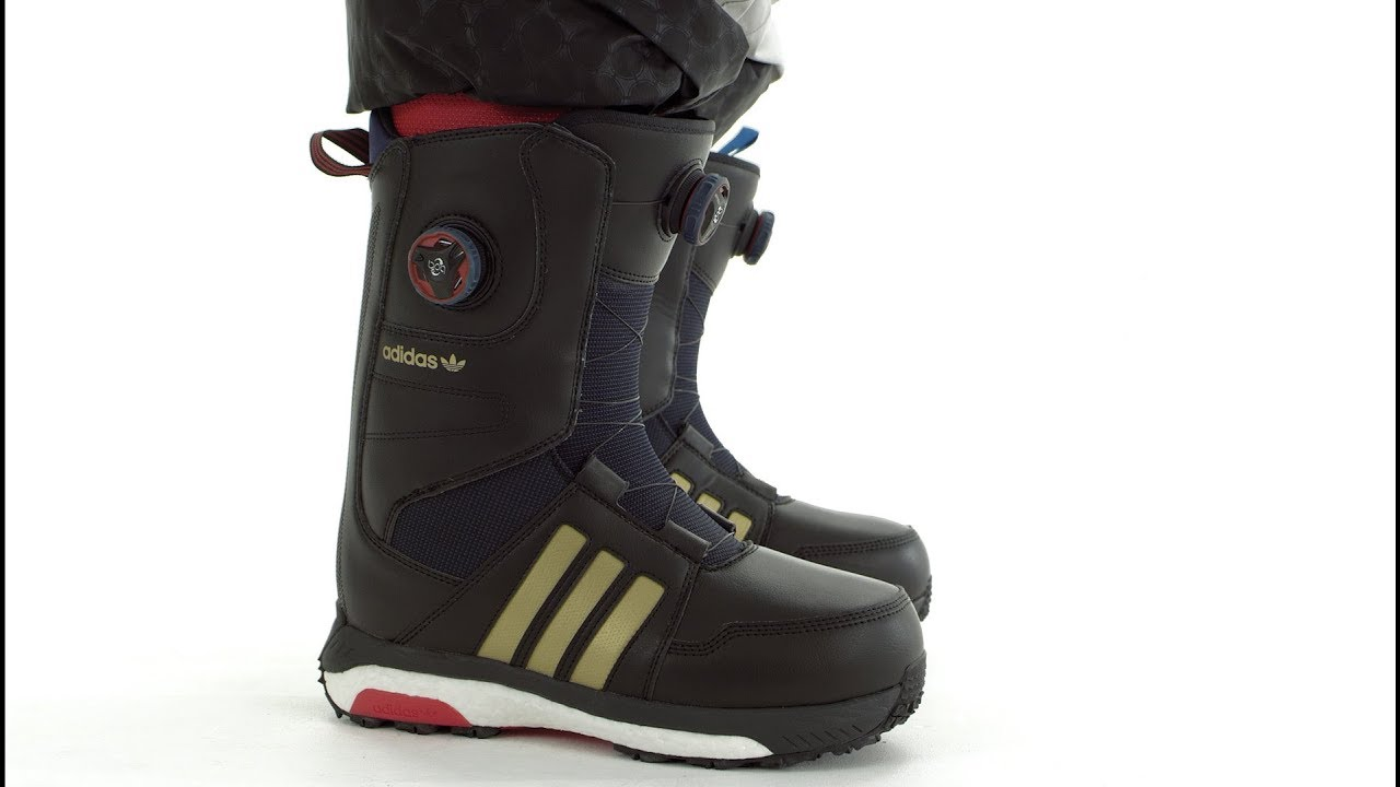 new arrival 53067 a12fa 2017  2018  Adidas Acerra ADV Snowboard boots  Video Overview