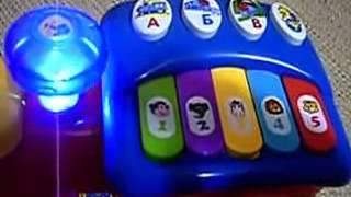 Обзор игрушка - Joy Toy Паровозик сортер Ту-Ту
