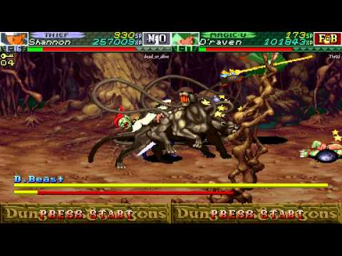 Dungeons & Dragons: Chronicles of Mystara (Random co-op gameplay) - Part 5 |