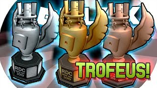 😱 NEW TROPHIES from the DRC EVENT at ROBLOX! WILL it GIVE the PLAYERS to CATCH?! 🤯