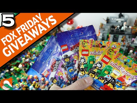 #5 XFox Friday Giveaways! Can you Find the Change? - Win FREE LEGO CONTEST