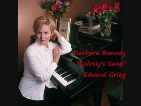 "Barbara Bonney ""Solveig's Sang"" Antonio Pappano Edvard Grieg"