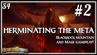 Hearthstone: Herminating the Meta S4 Ep.2 - Blackrock Mountain Analysis
