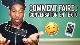 10 CONSEILS POUR FAIRE CONVERSATION EN TEXTO