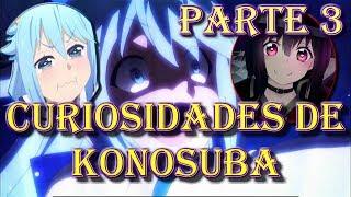 15 Curiosidades de Konosuba Parte 3 (Anime vs Novel Sin ningún Spoiler)