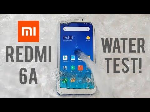 xiaomi-redmi-6a-water-test!