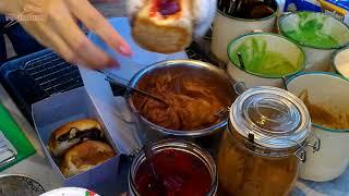 Street food Stuffed Bread@Thailand Phuket