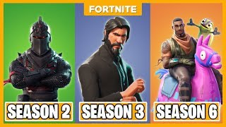 TOP 5 BESTE BATTLEPASS IN FORTNITE (SEASON 1-6) - Fortnite