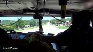 Truck 343 Berryhill Fire Department Ride Along