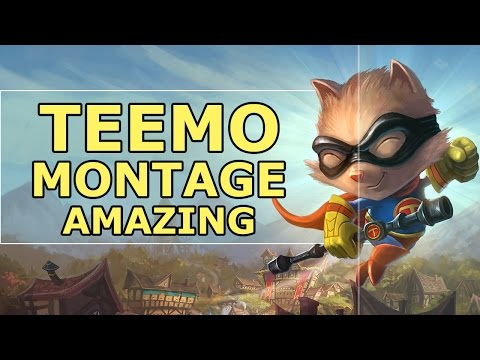 Teemo Montage | Amazing Teemo Outplays (League Of Legends)