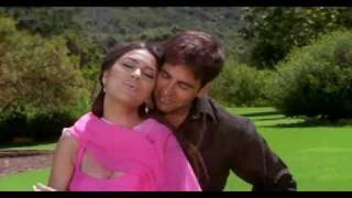 Aaj Kehna Zaroori Hai [Full Video Song] (HQ) With Lyrics - Andaaz