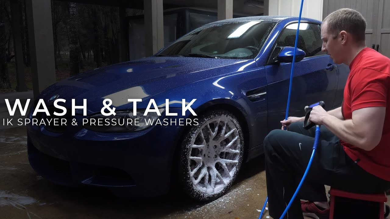 E92 M3 Wash and Talk:  E1 - IK Foamer Fail & Talking Pressure Washers