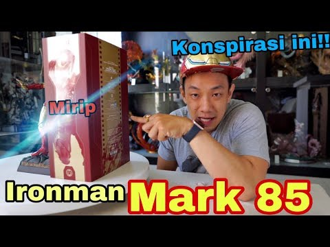 HOTTOYS IRONMAN MARK 85 AVENGERS ENDGAME, Eeehh MIRIP!! HHhhhmmm, KONSPIRASI APA INI???