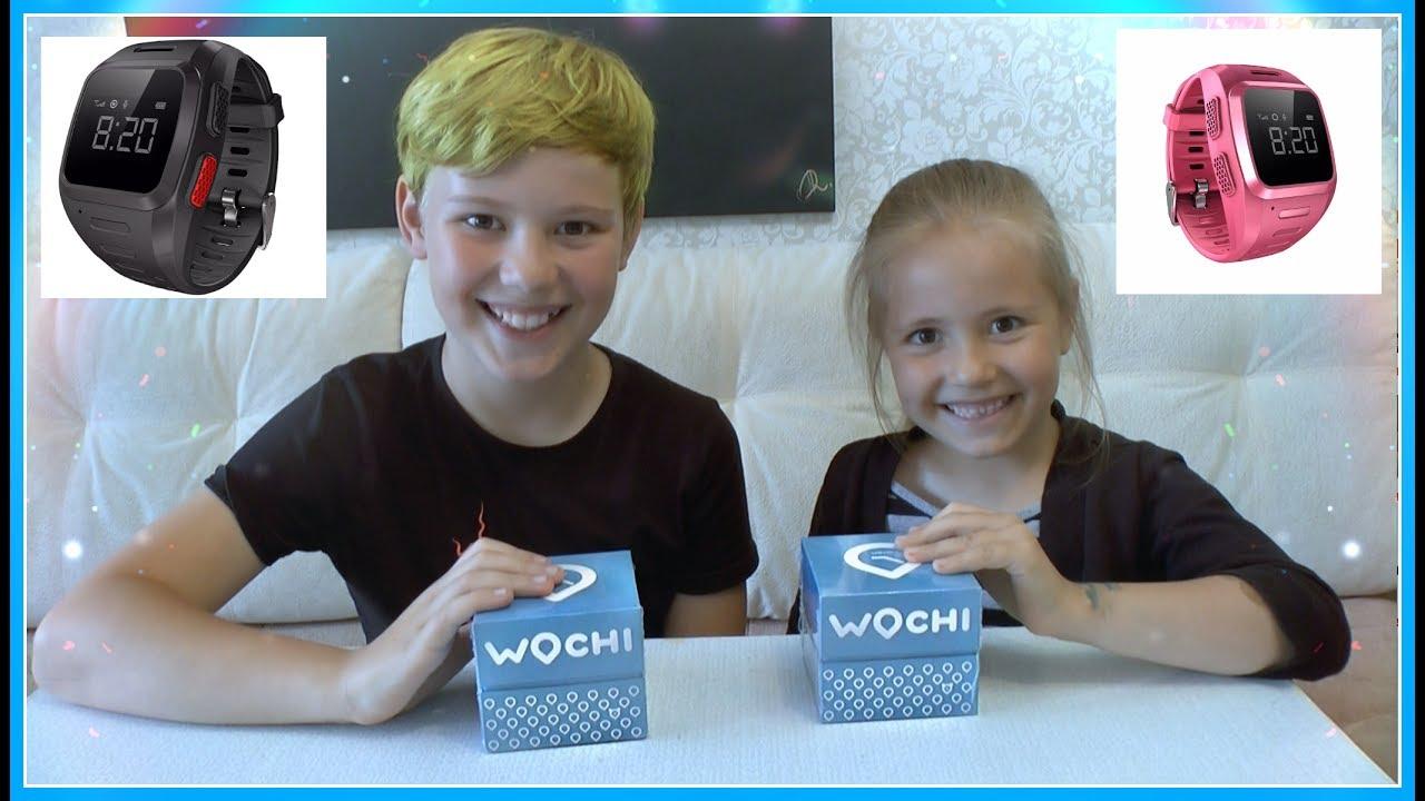 Часы телефон WOCHI Обзор GPS часов Как выбрать детские смарт часы?