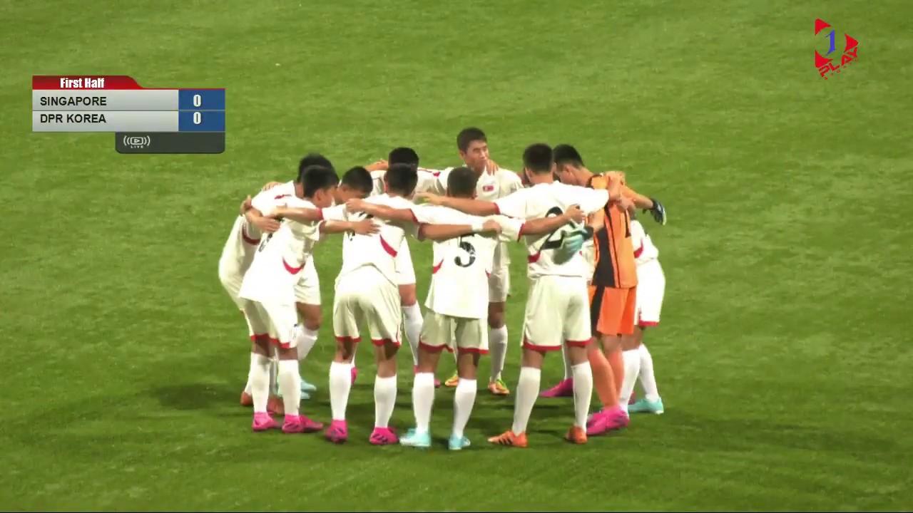 📺 LIVE: AFC U-16 Championship 2020 Group I Qualifiers - Singapore vs DPR Korea (19 September 2019)
