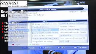 RÉCEPTEUR SATELLITE HD 3 EN 1