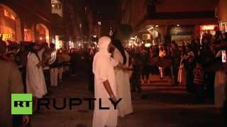 Syria: Torches light up Damascus suburbs for Ashura