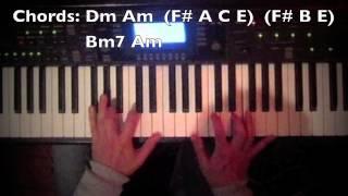 陳奕迅 Eason Chan 無條件 MV piano chords tutorial